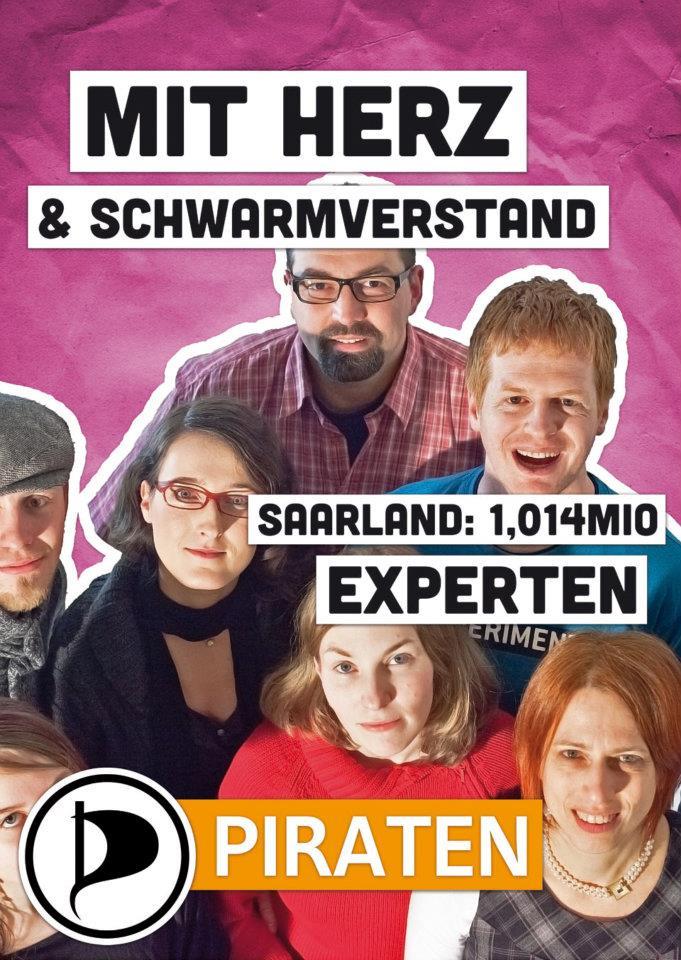 Mit Herz & Schwarmverstand – Saarland: 1,014 Mio. Experten