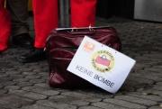 Kundgebung in Düsseldorf am 4.12.2010: Keine Bombe