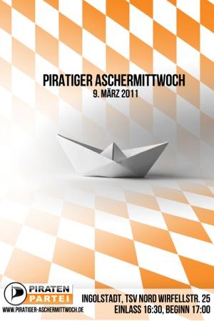 Piratiger Aschermittwoch 2011