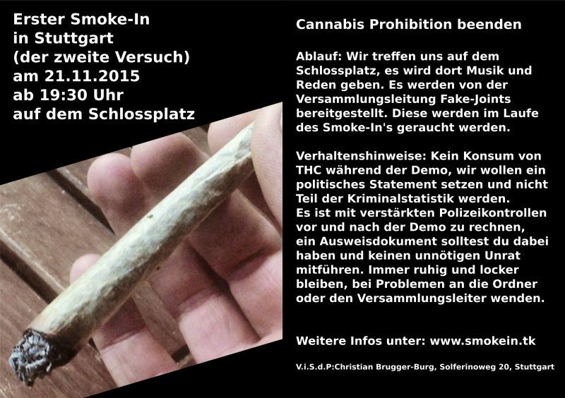 Smoke-In Flyer