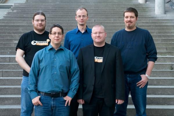 Vorstände v.l.n.r.: Bernd, Marco, Martin, Christian, Holger