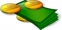 Banknotes and coin.png